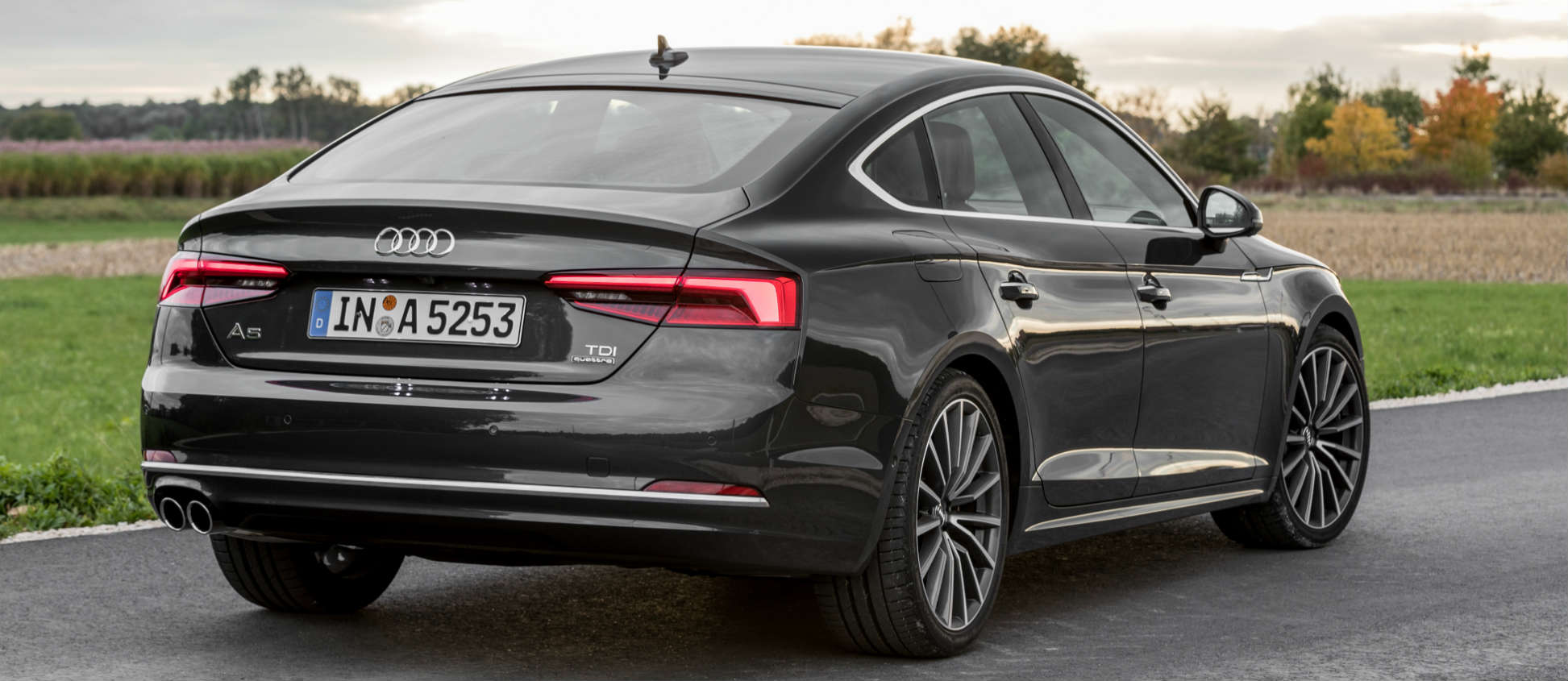 all new audi a5 coup and sportback models in shape for uk debut drive time. Black Bedroom Furniture Sets. Home Design Ideas